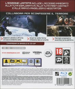 Videogioco Dead Space 3 Limited Edition PlayStation3 10