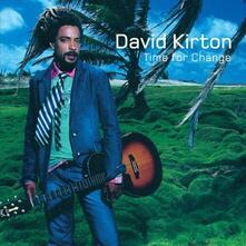 Time for Change - CD Audio di David Kirton