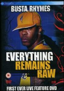 Busta Rhymes. Everything Remains Raw - DVD