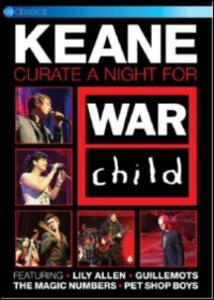 Keane Curate A Night For War Child - DVD