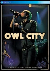 Owl City. Live From Los Angeles - DVD