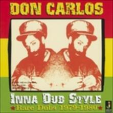 Inna Dub Style - CD Audio di Don Carlos