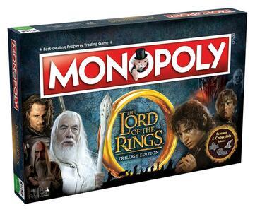 Versione Inglese [Edizione: Regno Unito] Lord Of The Rings. Monopoly