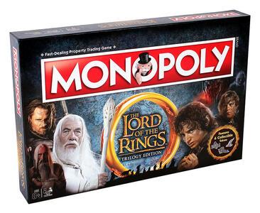 Monopoly Il Signore degli Anelli. Ed. Italiana