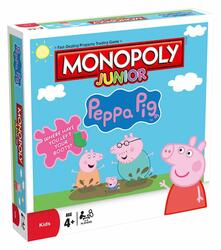 Edizione In Lingua Inglese Monopoly. Peppa Pig Junior