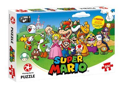 Puzzle Super Mario. Mario and Friends