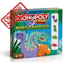 Monopoly Junior. Dinosaurs. Gioco da tavolo