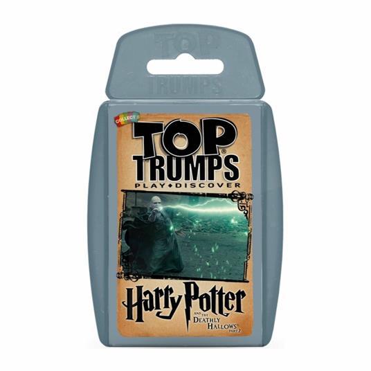 Image of Top Trumps Harry Potter e i Doni della Morte. Parte 2. Ed. Italiana (IT). Gioco da tavolo