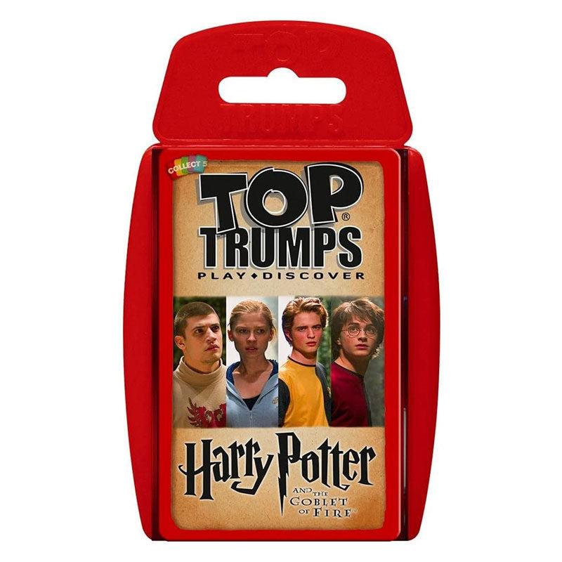 Image of Top Trumps Harry Potter e il Calice di Fuoco. Ed. Italiana (IT). Gioco da tavolo