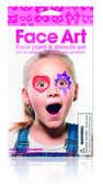 Idee regalo Set Stencil e colori Face Art Girl Trading Group