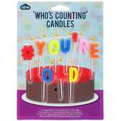 Idee regalo Candeline per Torta. You're Old NPW