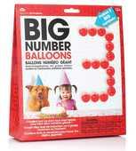 Idee regalo Big Number. Birthday Balloon NPW