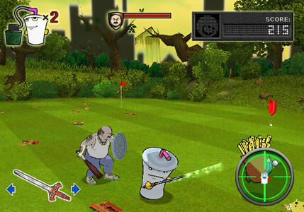 Aqua Teen Hunger Force Zombie Ninja Pro-Am - 6