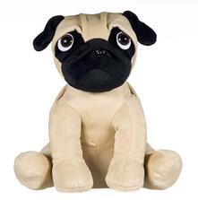 Cane Bulldog Carlino Seduto Peluche 50 Cm