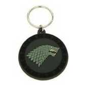 Idee regalo Portachiavi Game of Thrones. Stark in Gomma (Trono di Spade) Pyramid