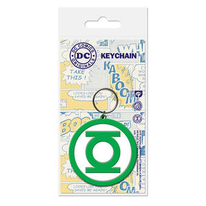 Portachiavi Green Lantern. Logo in Gomma (Lanterna Verde)