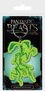 Portachiavi in Gomma Fantastic Beasts. Bowtruckle
