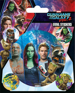Set Adesivi Guardians Of The Galaxy Vol. 2. Team - 2