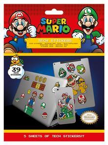 Tech Sticker Pack Nintendo. Super Mario