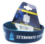 Idee regalo Braccialetto Doctor Who. Exterminate in Gomma Pyramid