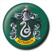Idee regalo Pin Badge Harry Potter. Slytherin Crest Pyramid