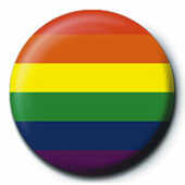 Idee regalo Pin Badge Pride. Flag Pyramid