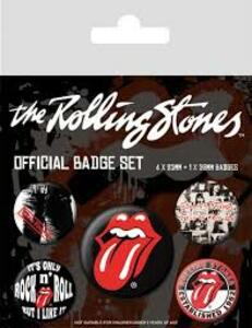 Badge Pack The Rolling Stones. Classic