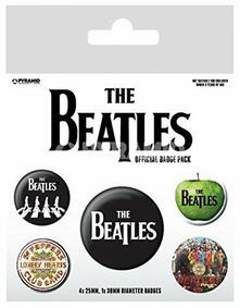 Badge Pack The Beatles. Sgt. Pepper