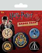 Idee regalo Badge Pack Harry Potter. Hogwarts Pyramid