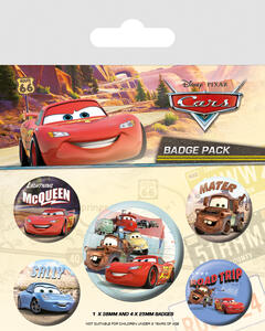 Badge Pack Cars. On The Road