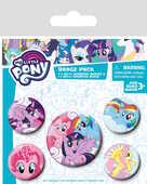 Idee regalo Badge Pack My Little Pony Distintivi Pyramid