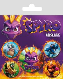 Badge Pack Spyro Reignited Characters
