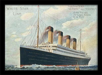 Stampa in cornice 30 x 40 cm Titanic. 7