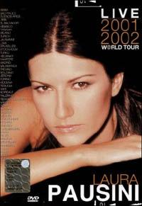 Locandina Laura Pausini. Live World Tour 2001-2002