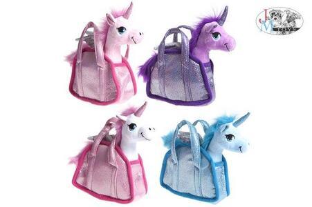 Unicorni. Peluche In Borsetta 20 Cm