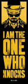 Idee regalo Poster da porta Breaking Bad. I Am The One Who Knocks Pyramid