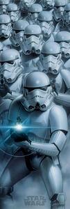 Poster da porta Star Wars. Stormtroopers
