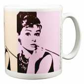 Idee regalo Tazza Audrey Hepburn. Cigarello Pyramid