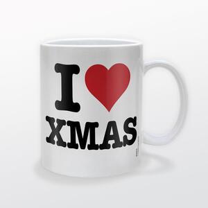 Tazza Christmas I Heart Xmas