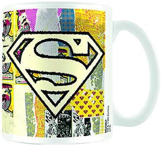 Tazza Superman. Logo Distressed