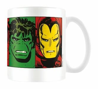Tazza Marvel Retro. Faces