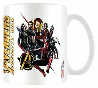 Tazza Avengers Infinity War. Ready For Action