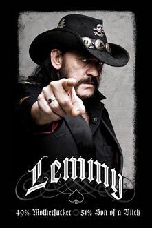 Poster Lemmy. 49% Mofo