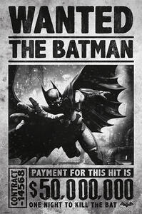 Poster Batman Arkham Origins. Wanted