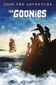 Idee regalo Poster The Goonies. Join The Adventure Pyramid
