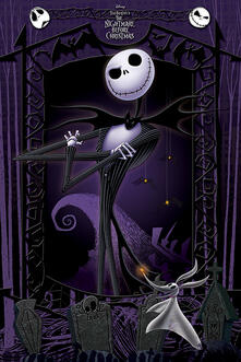 Poster Maxi Nightmare Before Christmas. It's Jack