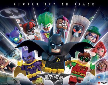 Lego Batman. Always Bet On Black