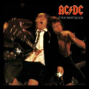 Cornice con stampe AC/DC. If You Want Blood