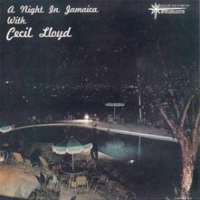 A Night in Jamaica with - Vinile LP di Cecil Lloyd