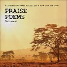 Praise Poems vol.4 A Journey Into Deep Soulful Jazz & Funk from the 1970s - CD Audio
